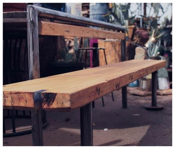 Bowling Lane-bench
