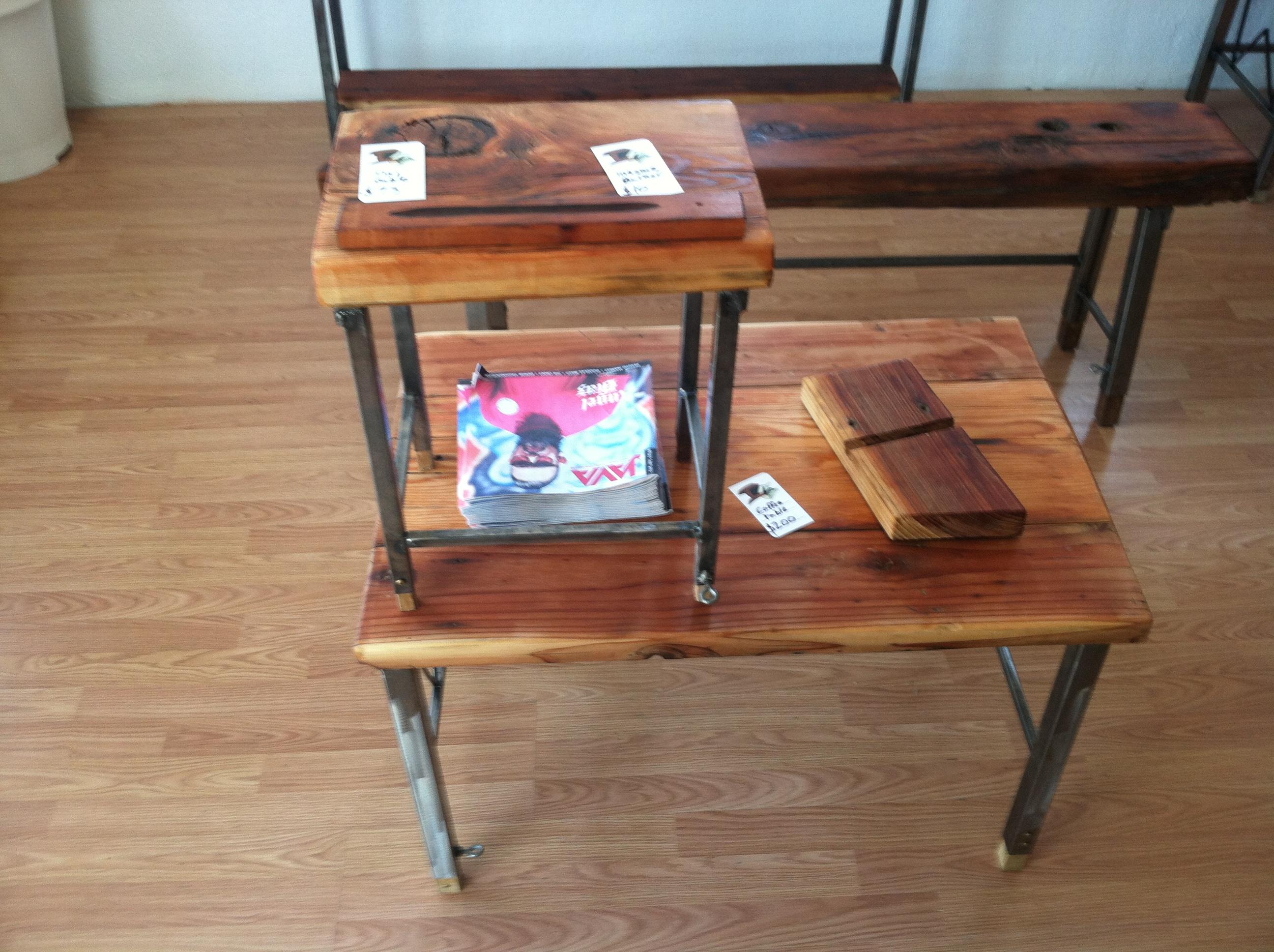 Industrial Craftsman Furniture Handmade custom furniture