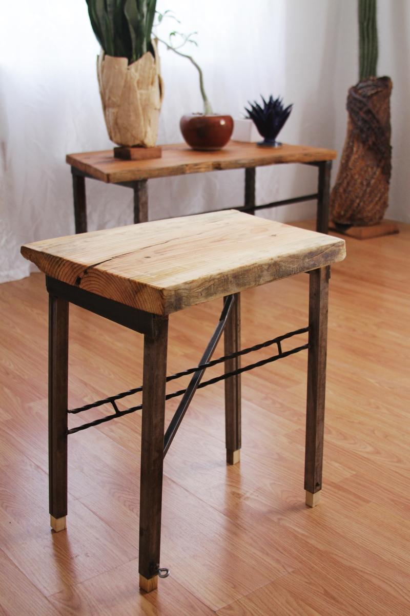 Featured tiny table industrial craftsman furniture Craftsman furniture