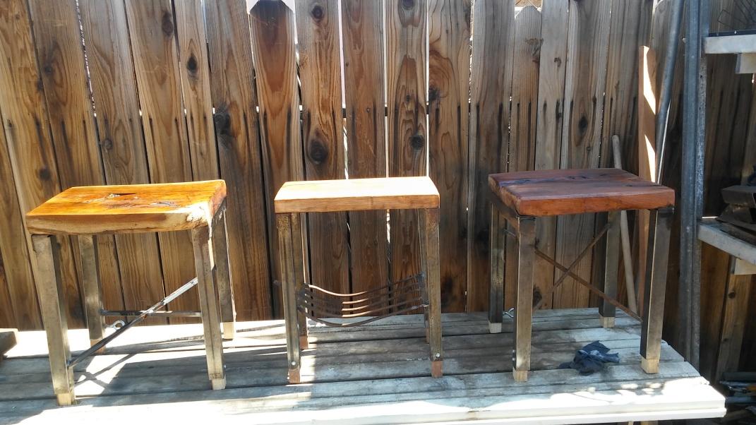 Tiny tables.