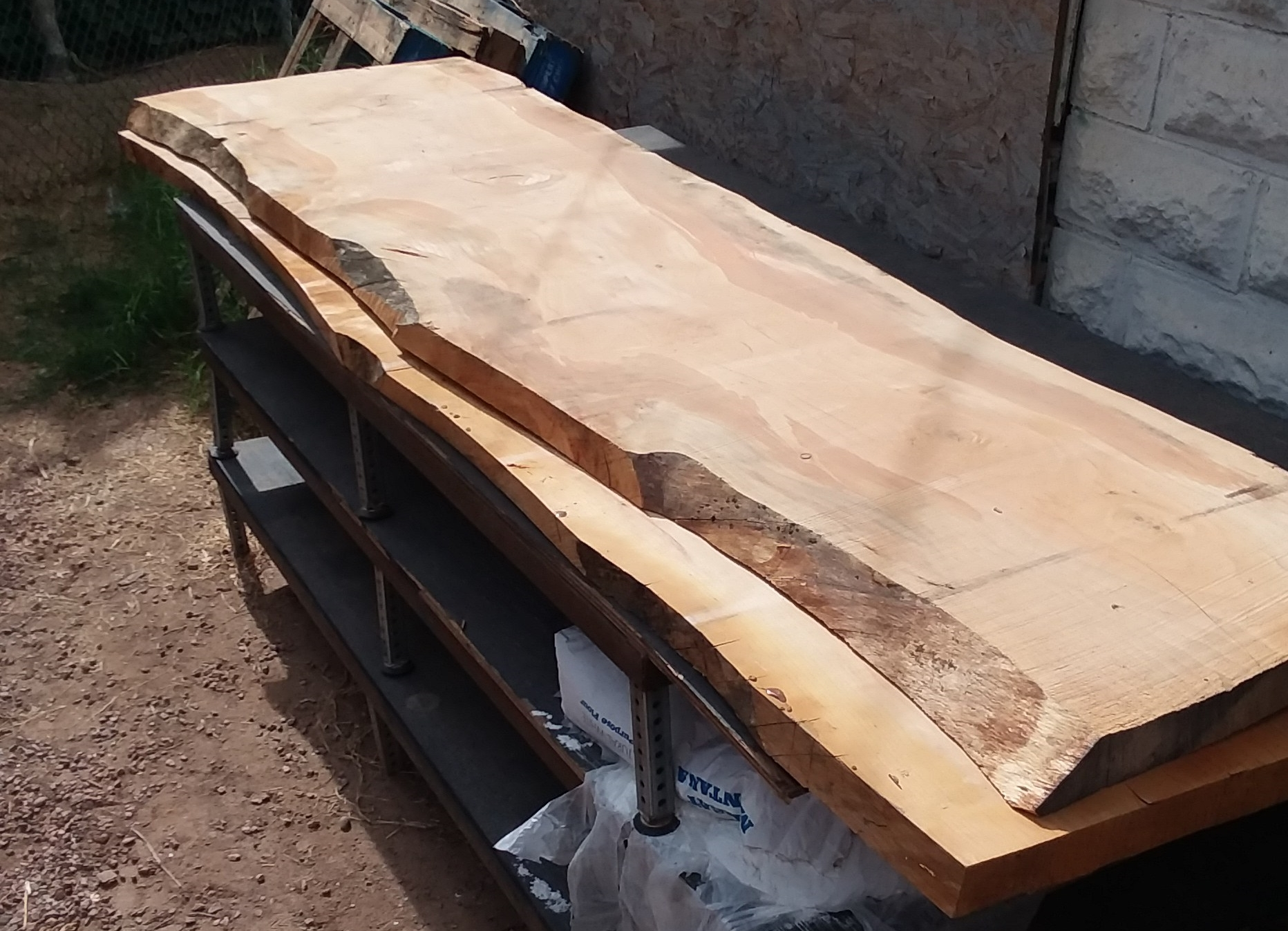 Slabs of Cedar
