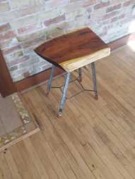 Mesquite Tiny Table 2 By Wm Hemphill