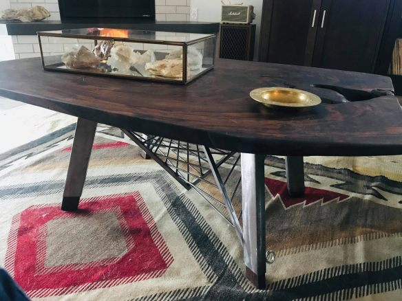 Wm Hemphill Walnut Coffee Table